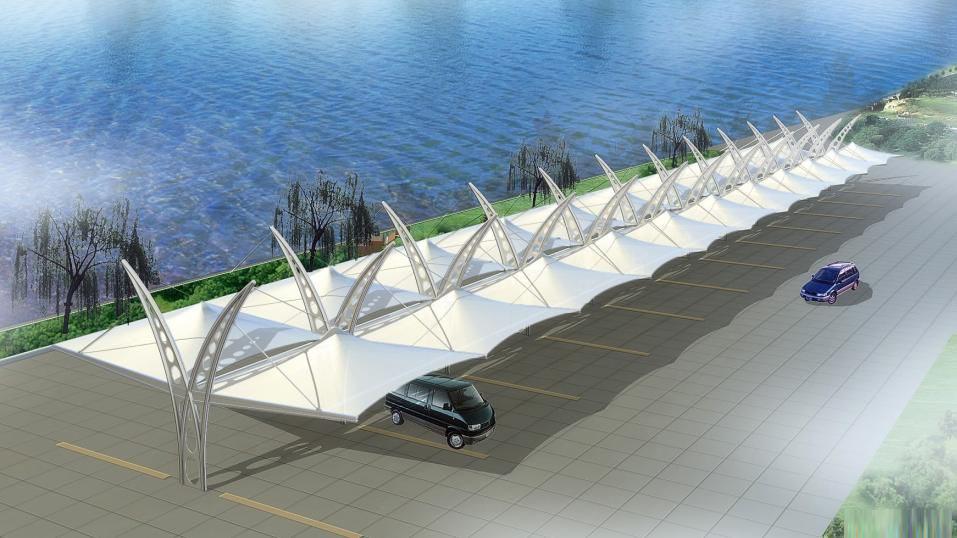 交通设施膜结构设计效果图集
