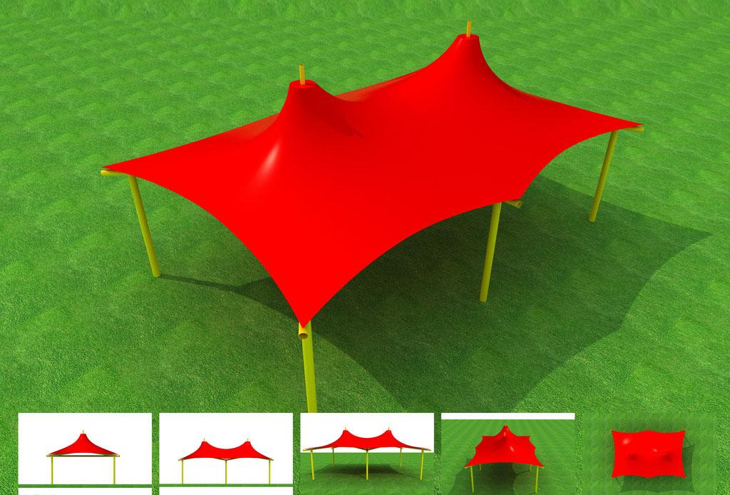 彩色膜结构设计效果图集